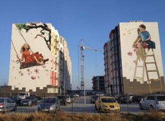 Близькі мрії: в Одесі британська художниця доповнила свій мурал новим малюнком – фото