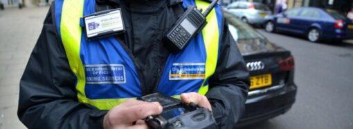 За місяць роботи одеські інспектори з паркування виписали майже півтисячі штрафів