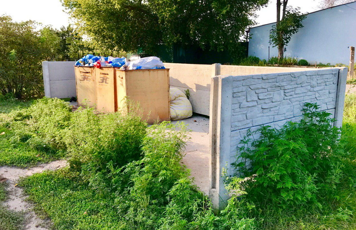В селе намерены создать несколько площадок для сортировки мусора