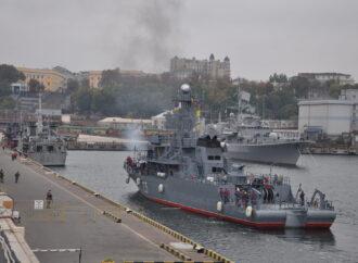 До Одеси прибули чотири кораблі НАТО з Іспанії, Румунії, Болгарії та Італії – відео