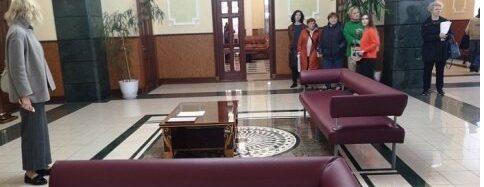 На железнодорожном вокзале в Одессе появился зал отдыха для военных