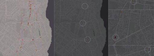 Одессит создал карту самых опасных городских дорог