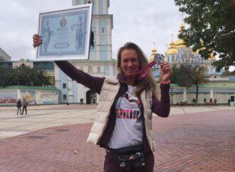 Пробігла 45 кілометрів з робо-протезом: одеситка встановила рекорд України