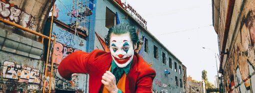 """Джокер из популярных комиксов поселился в исторической """"канаве"""" Одессы"""