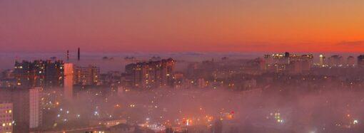Туман в Одессе: как выглядит город с высоты (видео)