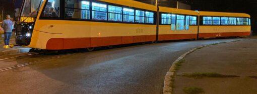 Найдовший трамвай почали випробовувати на маршрутах Одеси