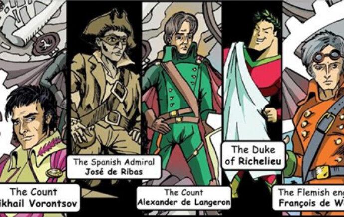 Одеські супергерої – хто вони: у міськраді представили фільм-комікс про героїв міста
