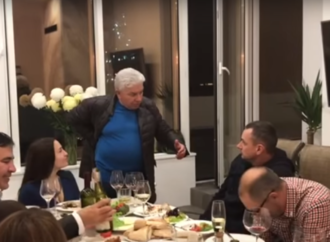 Хаит читал стихи, а Филимонов травил анекдоты: Саакашвили переехал в Одессу и похвастался новосельем (видео)