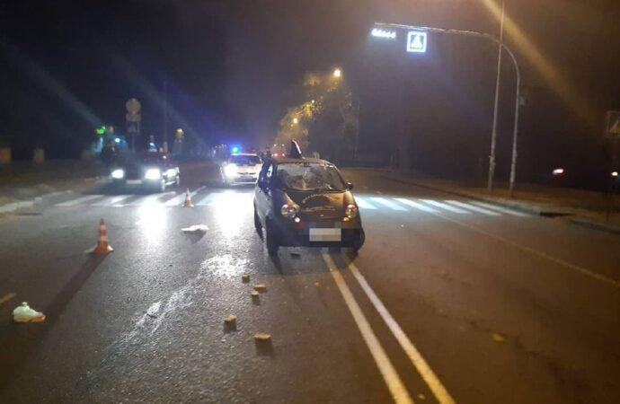 Не теряйте бдительность даже на переходах: в Одессе сбили пешехода