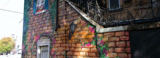 В Одессе оригинально преобразили исторический угол (фото)
