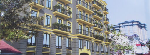 Под видом реконструкции в центре Одессы строят новую высотку (фото)