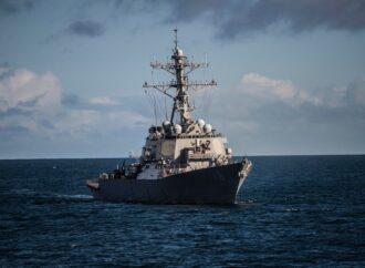 Американский боевой корабль вошел в Одесский порт