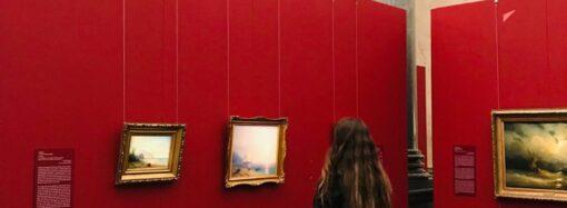 Картины Айвазовского из коллекции Одесского худмузея отправились на выставку в Латвию