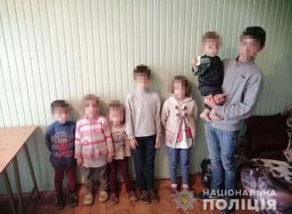 Семеро голодных и замерзших детей гуляли по Одессе без присмотра