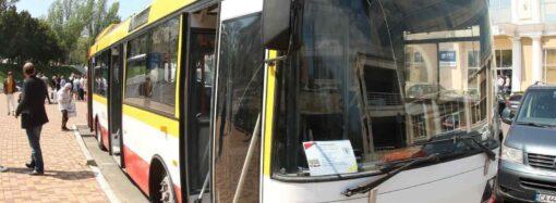 На одесские улицы выходит первый электробус