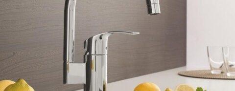 Главные особенности и виды кухонных смесителей Grohe