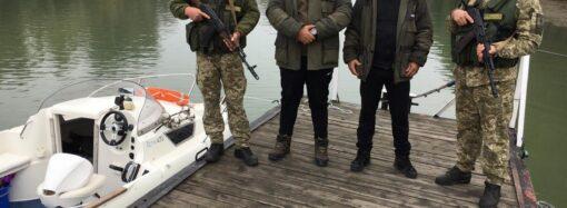 Итальянец и румын нарушили границу, чтобы порыбачить в Одесской области