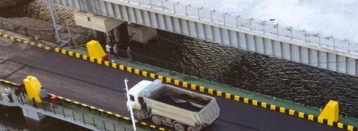 Под Одессой для автомобилистов установили ограничения по весу на мосту