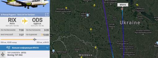 Из-за сильного ветра в Одессе не могут сесть самолеты