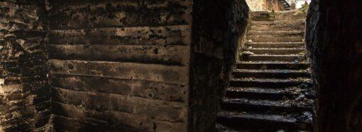 В одесском парке нашли таинственный подземный грот