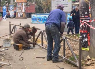 Одесские автолюбители не смогут парковаться у парка Шевченко