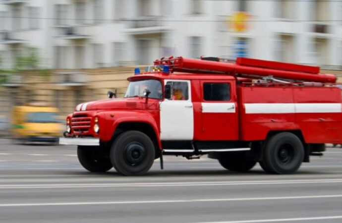 Центральные улицы Одессы охватил дым