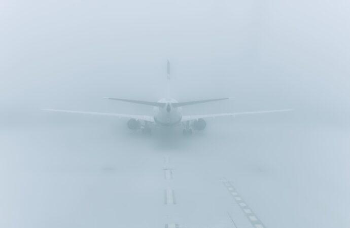 Вечерний туман внес свои коррективы в работу аэропорта «Одесса»
