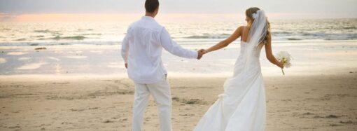 Давай поженимся: в этом году в Одесской области за сутки расписались более 3 тысяч пар
