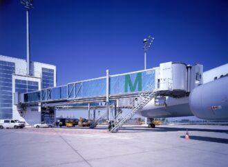 Аэропорт в Одессе оборудуют трапами, ведущими в самолет из терминала