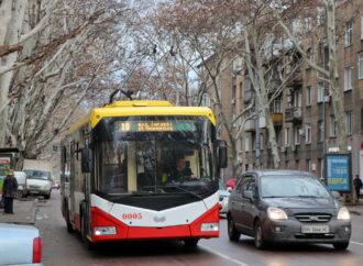 На одной из центральных улиц Одессы маршруткам и троллейбусам выделят отдельную полосу