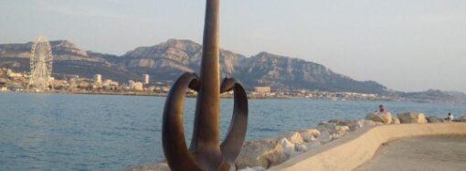 У Марселі встановили символ Одеси «Якір — Серце»: Труханов був на відкритті (відео)