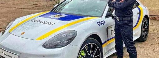 """""""Нереальний КОПець"""": для чого в Одесі з'явився поліцейський Porsche – відео"""