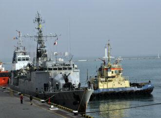 К берегам Одессы причалил военный корабль из Франции (фото)