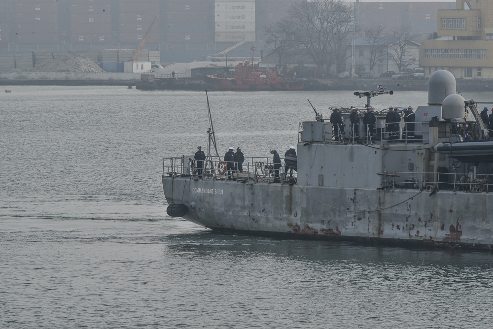 Корабль пробудет у нас до 1 декабря