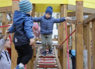 """В Одесі з'явився новий дитячий спортивний комплекс з """"Летючим голландцем"""""""