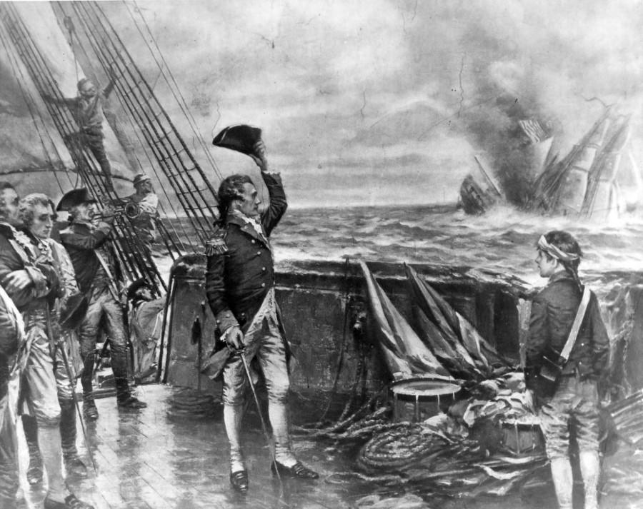 У могилы героя сегодня принимают присягу будущие морские офицеры