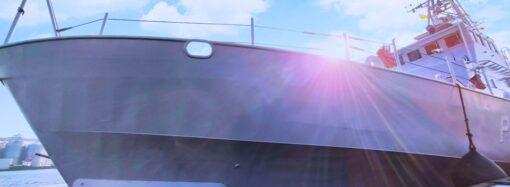 Как в Одессе американские катера на службу в Военно-морские силы принимали (фото)