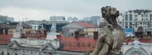Подвал дома Либмана в Одессе затопило канализационными стоками (фото)