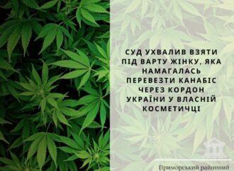 В Одессе путешественницу с наркотиками в косметичке могут освободить за 60 тысяч гривен