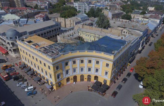 На Приморском бульваре в Одессе суд запретил застраивать исторический дом