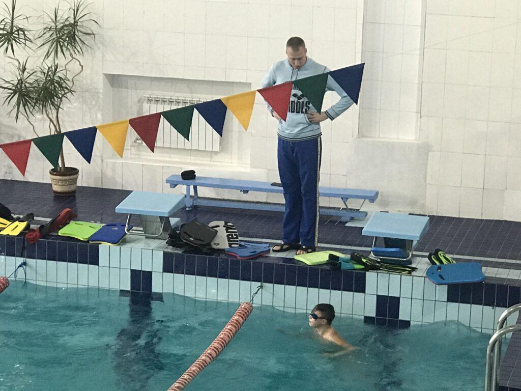 В спорткомплексе обновили бассейн