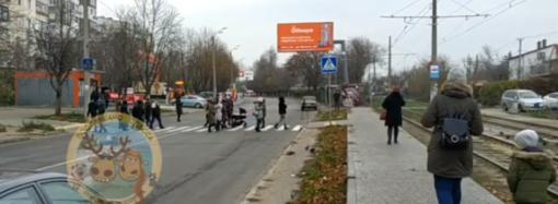 Что произошло в Одессе 27 ноября: перекрытие дороги протестующими и лицеи вместо школ