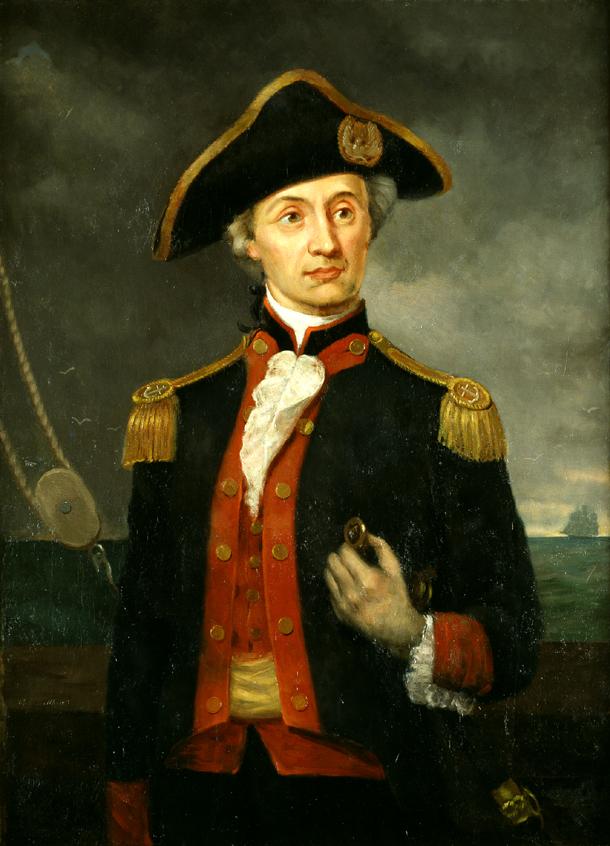 Адмирала причислили к рыцарству, вручив Орден и золотую шпагу короля Франции