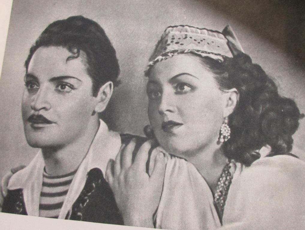 В театре чтят память народной любимицы