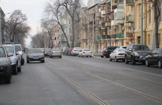 На «куске» Софиевской в Одессе уже открыто движение авто