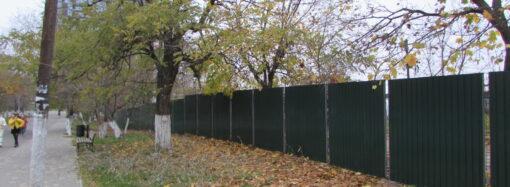 Построят отель или яхт-клуб: зачем участок на Трассе здоровья оградили забором?