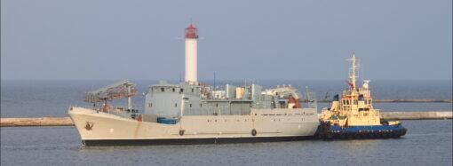 """Разведывательный корабль """"Лагуна"""" будут достраивать в Одессе"""