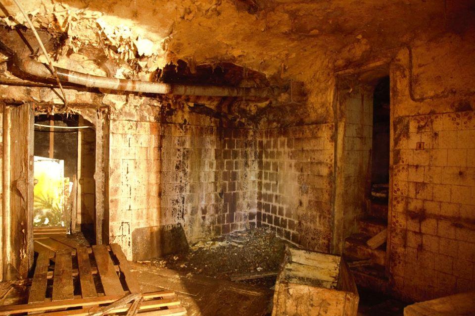 Подвал частично затоплен канализационными стоками