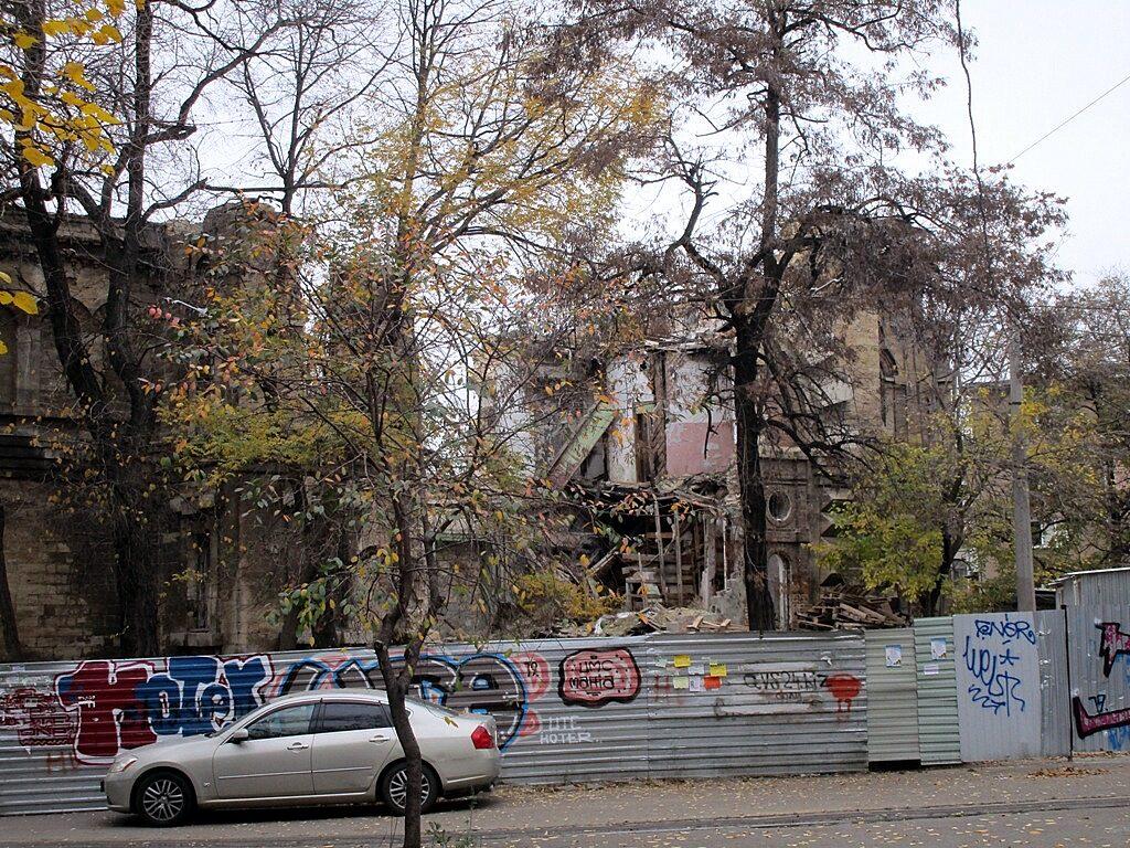 Руины Масонского дома