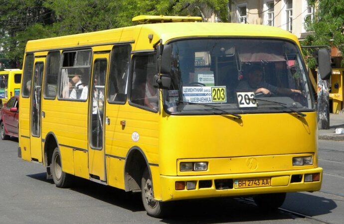 В Одессе уберут дублирующие маршрутки и увеличат вместимость автобусов